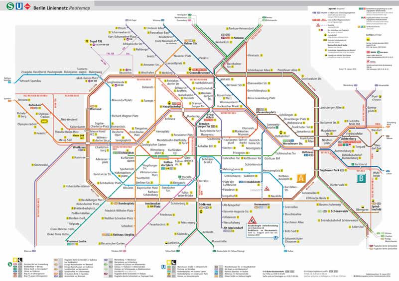 Mapa Metro Berlin 2020 La Guia De Berlin